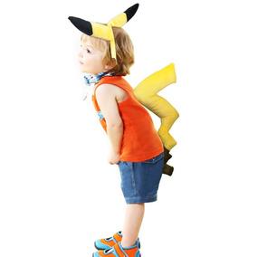 Disfraces Pokemon Pikachu - Disfraces Hombre en Mercado Libre Chile 09955e90d2da