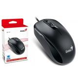 Mouse Optico Alambrico Genius Dx110 Ps/2 Negro