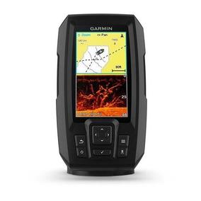 Gps Sonar Garmin Striker Plus 4cv Fishfinder C/ Transducer