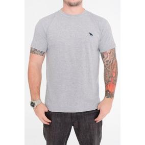 1e3a9e7dbe Camiseta Masculina Básica Bordado Raposa Acostamento