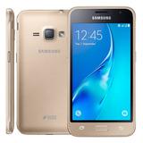 Celular Samsung Galaxy J1 2016 4g Dual 8gb + Nota -novo