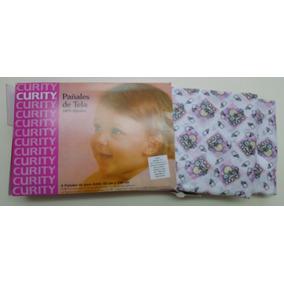 Pañales De Tela Curity 100% Algodón (niña), Nuevos