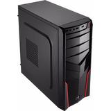 Gabinete Aerocool V2x Avance Mini-itx/ Micro-atx/ Atx Rojo