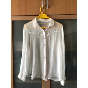Camisa Dama Aazul A Rayas Wanna slowly Bws-97 - Tienda Chaia. Artigas ·  Camisa De Gaza Blanca Con Tachas Y Botones En Plateado. 7488b123823