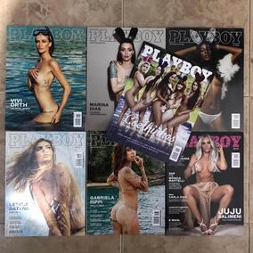 Kit Revistas Playboy (coelhinhas, Juju Salimeni)