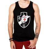 Camiseta Regata Vasco Futebol Time Branca E Preta Masculina 93b47dbdb6c6f