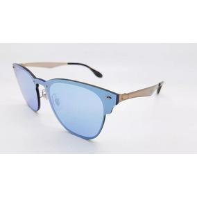 19f931b9e5948 Rayban Blaze Clubmaster Azul - Óculos no Mercado Livre Brasil