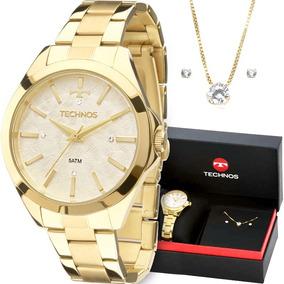 Relogio Technos Feminino Dourado Com Madreperola - Relógios De Pulso ... c213d7d9a6