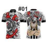 Camiseta Futebol Corinthians  Timão  Fiel  Sccp  Favela Cor 86541aedf889a