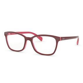 3f6ed8cb15ef0 Óculos De Grau Ray Ban Vermelho Original Rb5362 5777 Tam. 54
