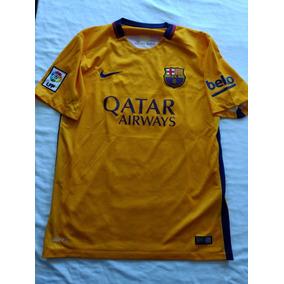 Jersey Playera Club Barcelona Nike Visita Talla M 2015 a4080826c92