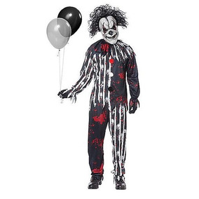 Disfraz Adulto Payaso Traje Freakshow Halloween Terror