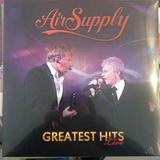 Air Supply / Greatest Hits Live Lp Vinilo // Disqueria Juku