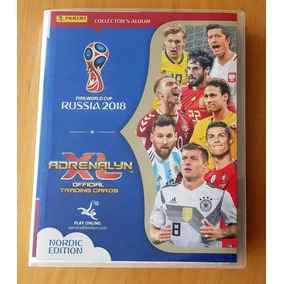 Adrenalyn Xl World Cup 2018 Nordic Edicao 486 Cards Completo