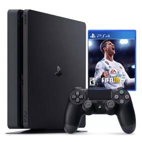 Consola Ps4 Playstation 4 Slim 1tb 1 Joystick Nueva+ Fifa 18
