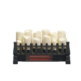 Chimenea Eléctrica De Velas/ Calefactor Con Control