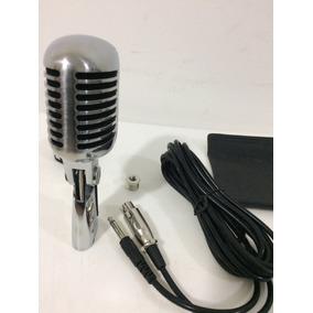 Microfone Shure Profissional Modelo Anos 1940