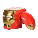 Mug Coleccionable Iron Man Marvel - Con Tapa -