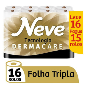Papel Higieniconeve Supreme Leve - 16 Rolos