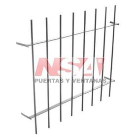 Reja Para Ventana De Aluminio 100x100