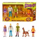 Muñecos Articulados Scooby Doo Set X5 Figuras - Mundo Manias
