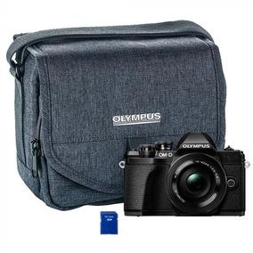 Câmera Olympus E-m10 Mark Iii 14-42mm Iir ( Bolsa + Memoria