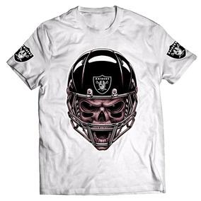 Camisa Camiseta Caveira Raiders Nfl 1 1b26c86933fc1