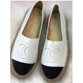 b826e883b Espadrille Chanel Original - Sapatos no Mercado Livre Brasil