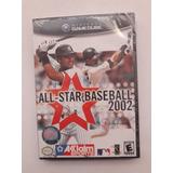 Game Cube Juego All Star Baseball 2002 Nuevo Cerrado
