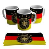 0dd70e1ce1 Caneca Alemanha Bandeira Seleção Alemã Futebol Escudo