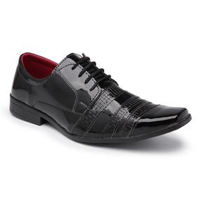 Sapato Social Masculino Em Verniz Em Estoque Envio Imediato