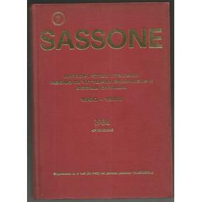 Itália 1984 Catálogo Especializado Sassone 43ª Ed. 353 Pág.