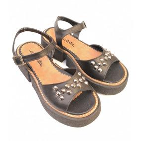 Sandalias N.37 Negras De Taco Corrido - Zapatos en Mercado Libre ... 3449332137a