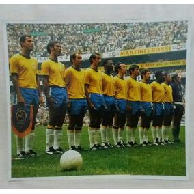 Figurinha Da Seleção Brasileira 1970