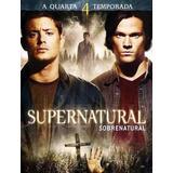 Supernatural 4° Temporada Completa - Box Original Lacrado