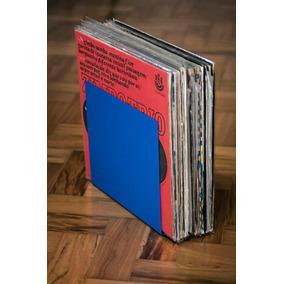 Suporte Disco Vinil Em Metal Porta Lp Organizador Vintage