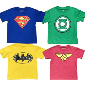 Playera Super Heroes Día Del Niño Superman Batman