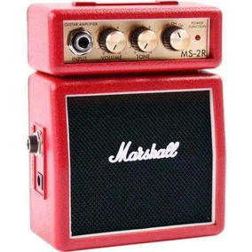 Mini Amplificador Marshall Ms-2r Red Micro Amp