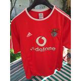Camiseta Fútbol Benfica Portugal Original Talla M Grande
