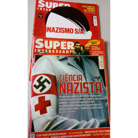 2 Revistas Super Interessante Sobre Nazismo / Nazista