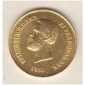 Ouro 5.000 Réis 1855 Fc 4,48 Gr. 20mm R$ 1.800,00