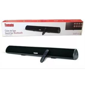Caixa Som Sound Bar P/ Tv C/ Bluetooth Top Tomate Optico