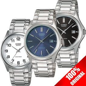 Reloj Casio Mtp1183 Varios Colores Estilo Clásico Acero