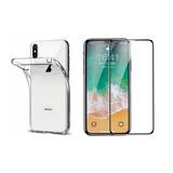 Capa + Película 5d Nano Gel P/ iPhone Xs Xr X 8p 8 7p 7 6p 6