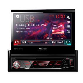 Dvd Player Automotivo Pioneer Retrátil Avh-3180bt 1-din