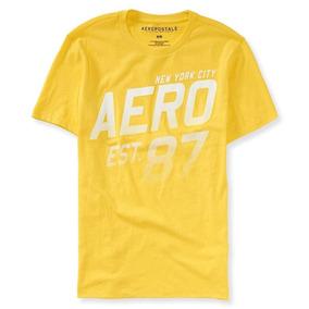 Camiseta Básica Aeropostale Tamanho G   L Original Algodão d442e05bdab