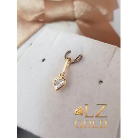 Pingente Ponto De Luz Em Ouro Branco E Zirconia - Joias e Bijuterias ... c441745f4a