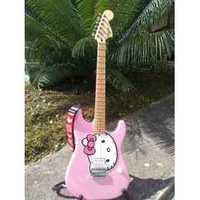 Guitarra Electrica Hello Kitty By Fender