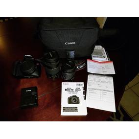 Super Câmera Canon T6 Com 2 Lentes, Estado De Nova - Urgente