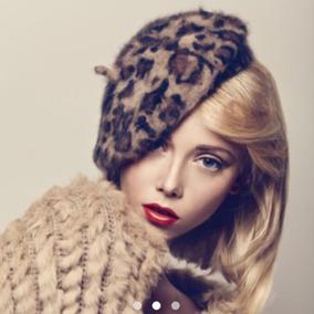 105018c04c9cd Hermosas Boinas Para Mujer Con Pelo Y Cabeza - Accesorios de Moda en ...